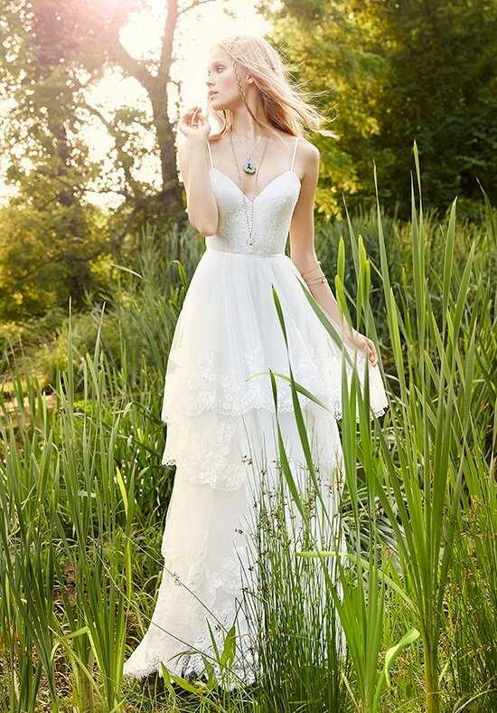 Ti Adora By Alvina Valenta 7554 Sheath Wedding Dress