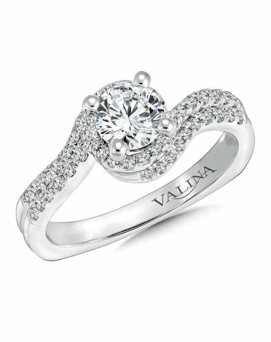 valina - Round Wedding Rings