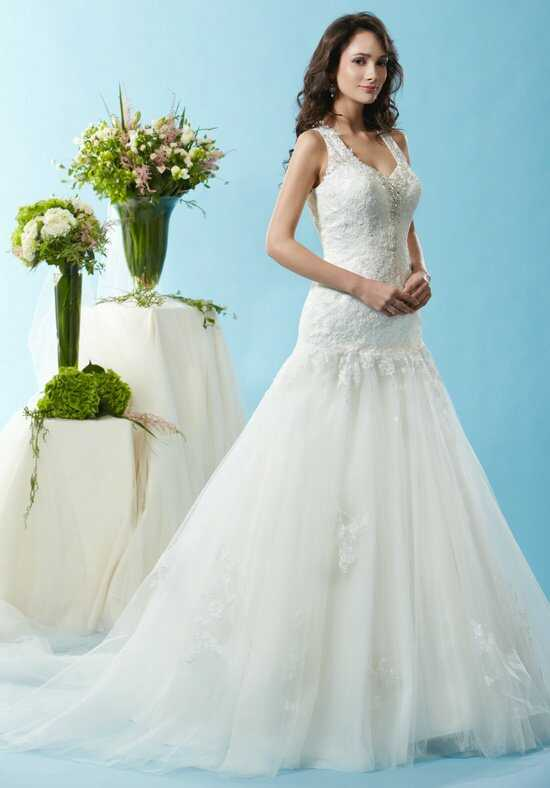 Eden Bridals BL120 A-Line Wedding Dress