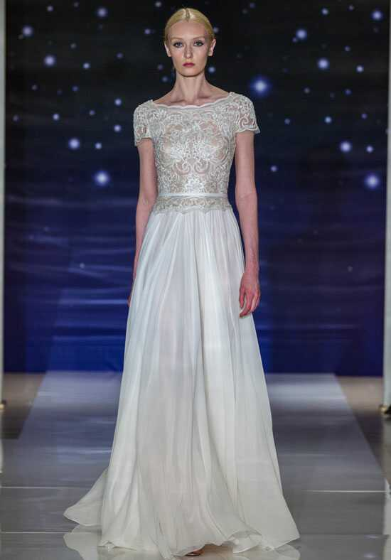 Reem Acra She's Perfect A-Line Wedding Dress