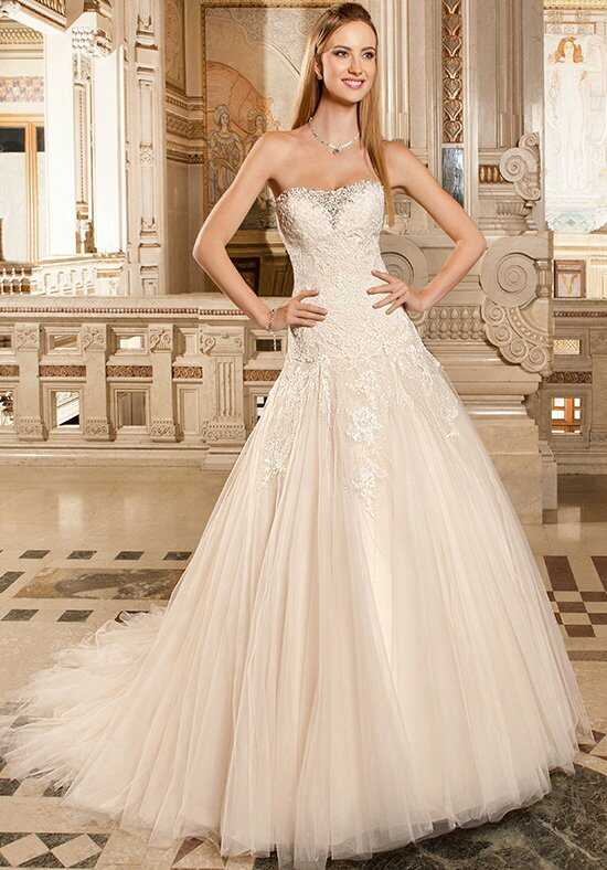 Demetrios 1480 A-Line Wedding Dress