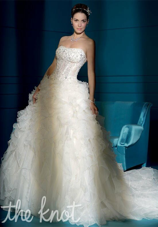 Demetrios 2832 Ball Gown Wedding Dress