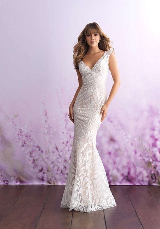 Allure Romance 3103 Sheath Wedding Dress