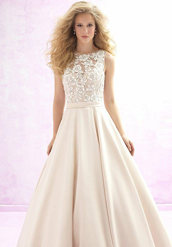 Madison james mj113 wedding dress the knot for Madison james wedding dress prices