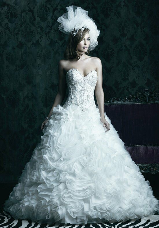 Allure Couture C229 Ball Gown Wedding Dress