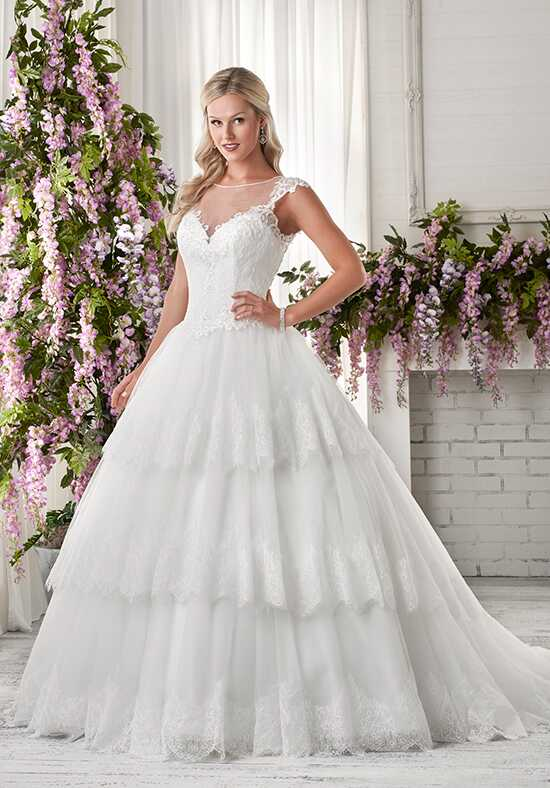 Bonny Bridal 608 Ball Gown Wedding Dress