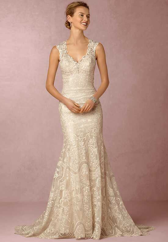 BHLDN Shea Gown Mermaid Wedding Dress