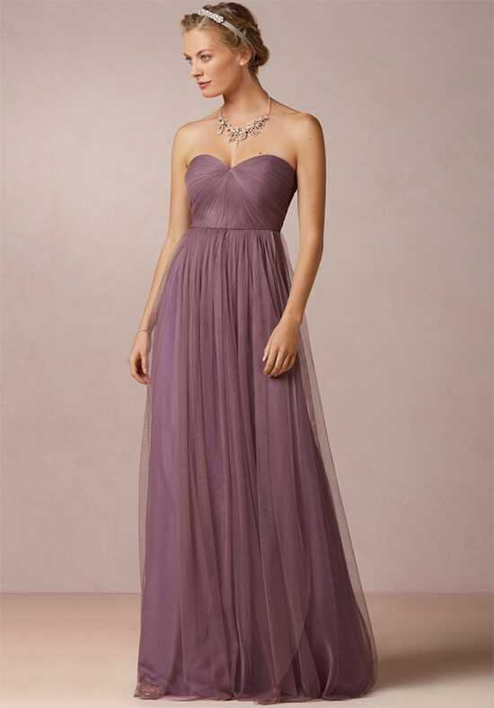 BHLDN (Bridesmaids) Annabelle_Purple Bridesmaid Dress photo