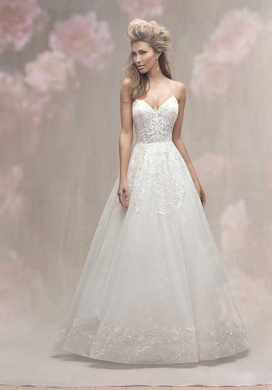 Allure Couture C454 Ball Gown Wedding Dress