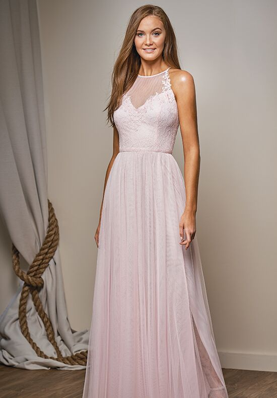 Belsoie L204009 Halter Bridesmaid Dress