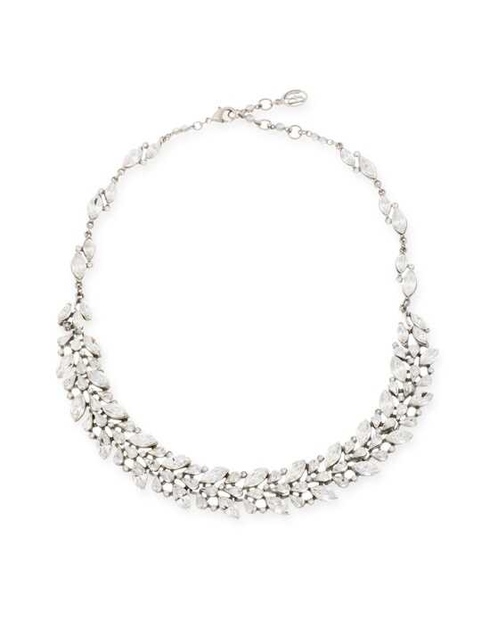 Thomas Laine Ben-Amun Belle Époque Crystal Teardrop Necklace Wedding Necklace photo