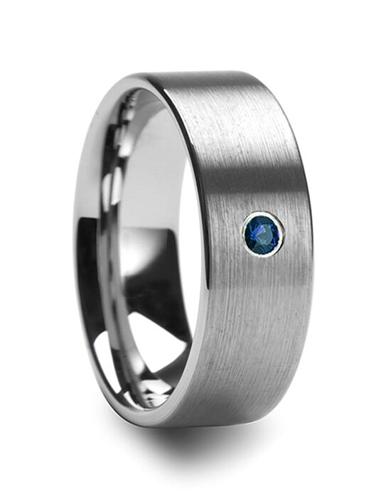Mens Tungsten Wedding Bands T5421-BFBD Tungsten Wedding Ring