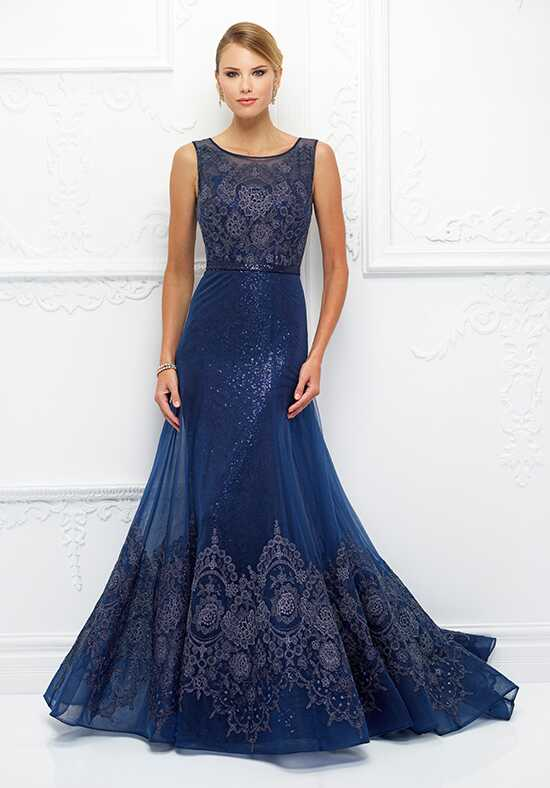 Ivonne D. 118D14 Blue Mother Of The Bride Dress