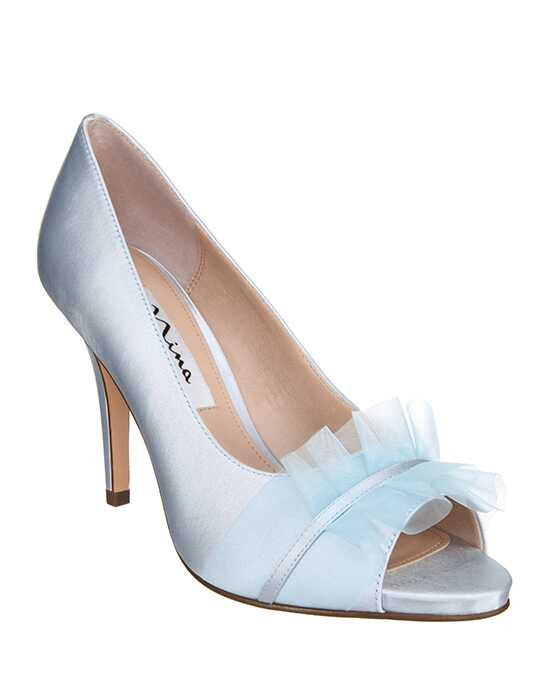 Nina Bridal Wedding Accessories Raizel_Blue Blue Shoe