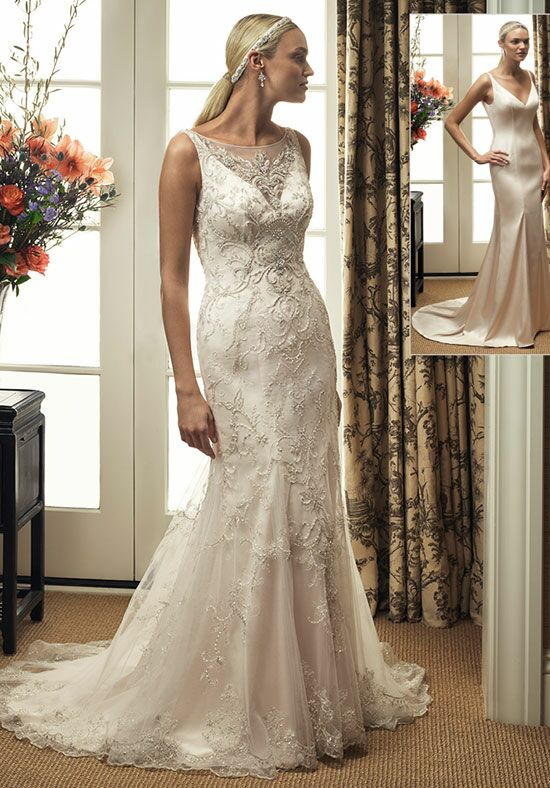 Casablanca Bridal 2211 Mermaid Wedding Dress