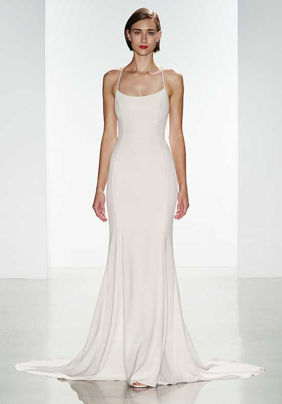 Nouvelle Amsale Audrey Sheath Wedding Dress