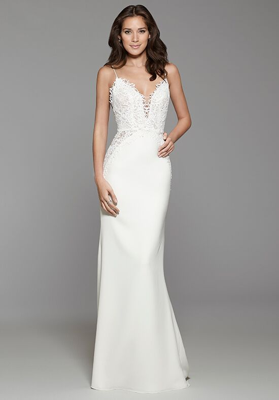 Tara Keely by Lazaro 2762 Sheath Wedding Dress