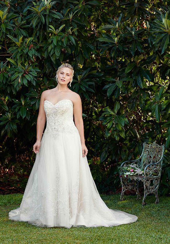 Casablanca Bridal Style 2276 Ambrosia A-Line Wedding Dress