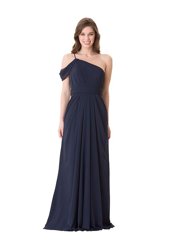 Bari Jay Bridesmaids 1672 One Shoulder Bridesmaid Dress