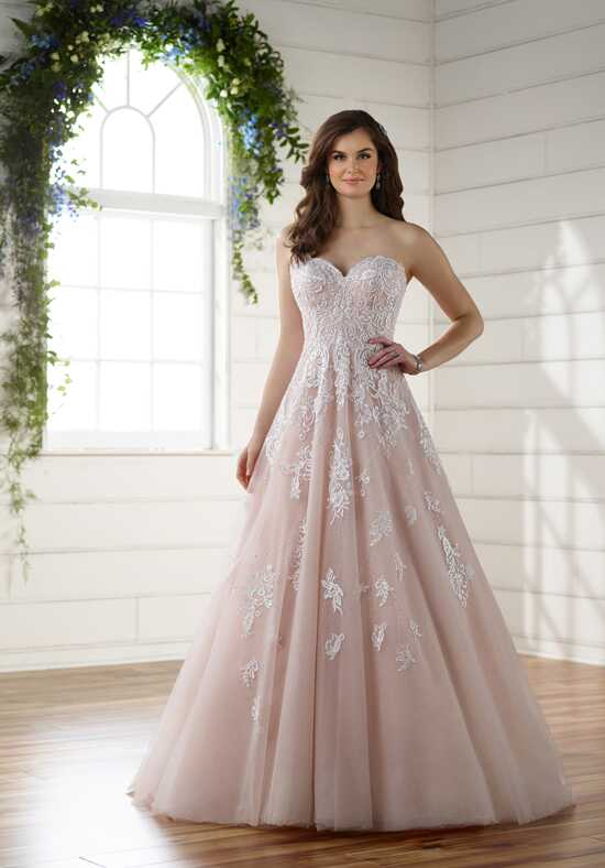 Essense of Australia D2218 A-Line Wedding Dress