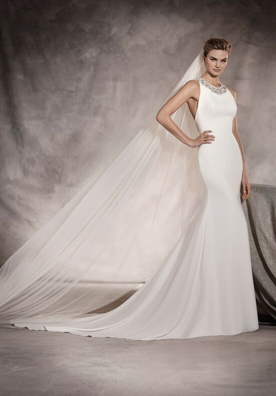 PRONOVIAS ANOETA Mermaid Wedding Dress