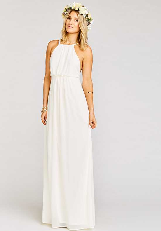 show me your mumu kendall wedding cake ivory bridesmaid dresses 19807