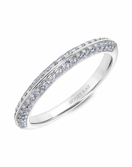 Scott Kay 31-SK5605W-L Platinum Wedding Ring