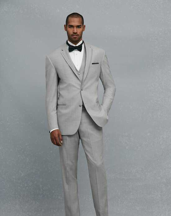 Jos. A. Bank Notch Lapel Gray Tuxedo Gray Tuxedo
