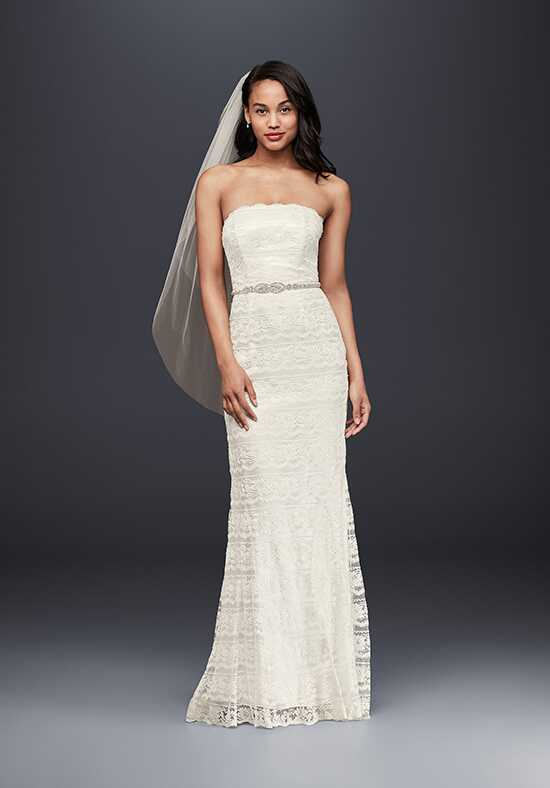 David's Bridal David's Bridal Collection Style VW9340 Sheath Wedding Dress