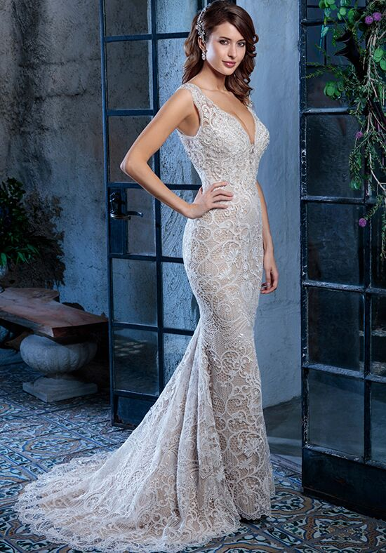 Amaré Couture by Crystal Richard C133 Colette Mermaid Wedding Dress
