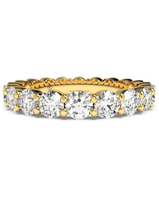 Ritani Women's Slim Round-Cut Diamond Prong-Set Eternity Band - in 18kt Yellow Gold - (1.80 CTW) Gold Wedding Ring