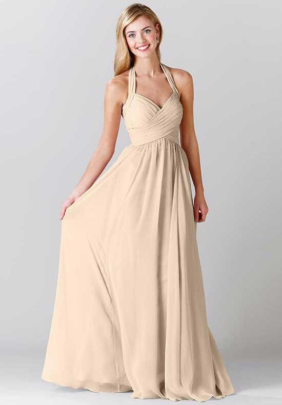 Kennedy Blue Violet Halter Bridesmaid Dress