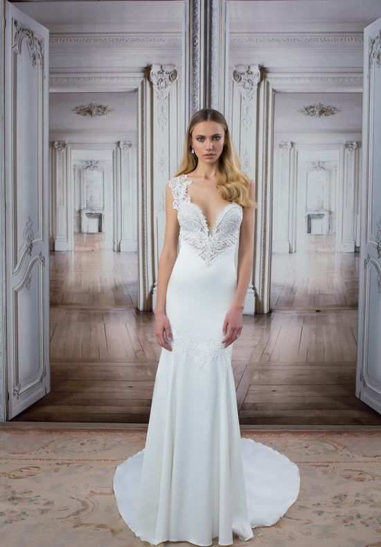 LOVE by Pnina Tornai for Kleinfeld 14421 Mermaid Wedding Dress