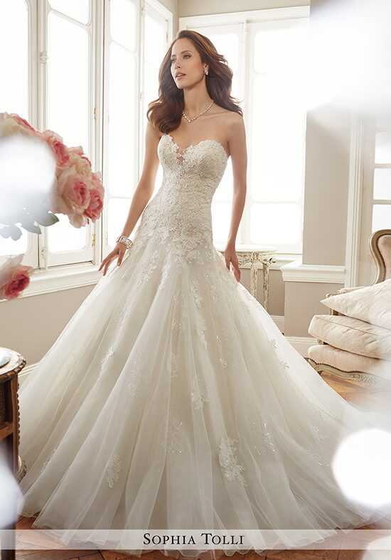 Sophia Tolli Y11715 Deon Mermaid Wedding Dress