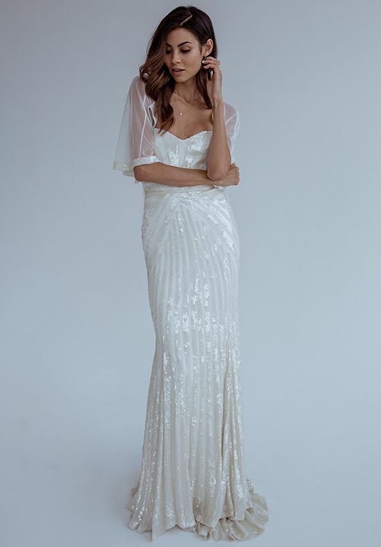 KAREN WILLIS HOLMES Layla Mermaid Wedding Dress