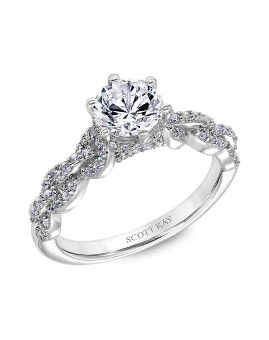 Scott Kay Cut Engagement Ring