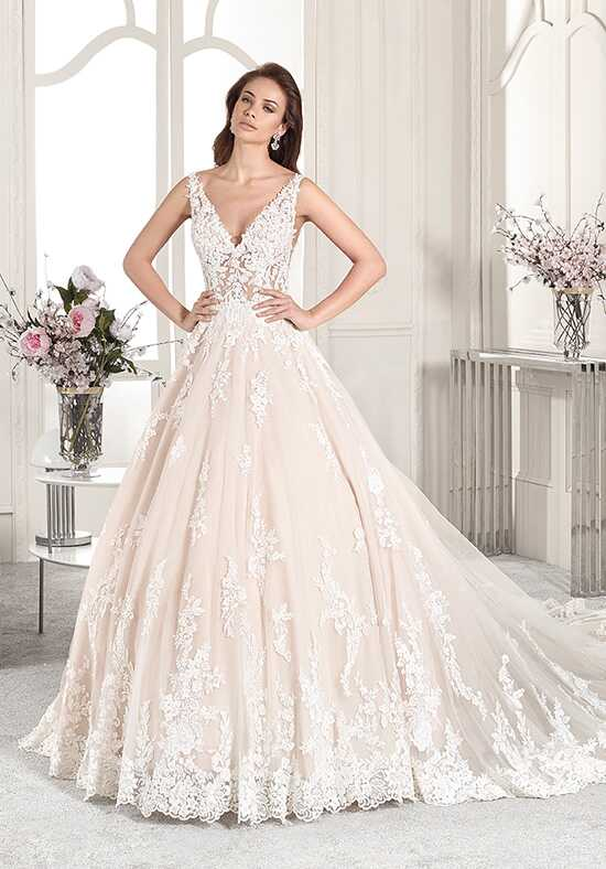 Demetrios 874 Ball Gown Wedding Dress