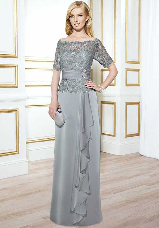 Val Stefani Celebrations MB7414 Gray Mother Of The Bride Dress