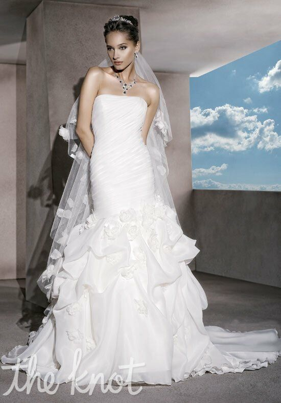 Demetrios 3180 Mermaid Wedding Dress
