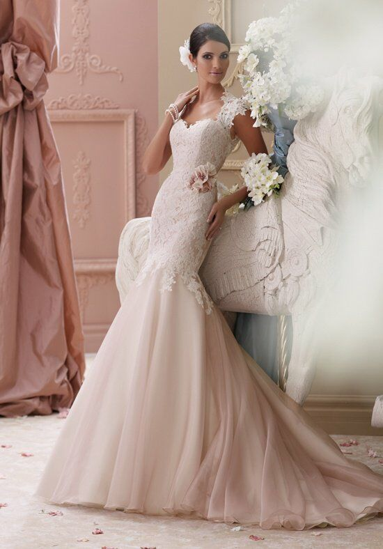David Tutera For Mon Cheri 115236 Meadow Wedding Dress