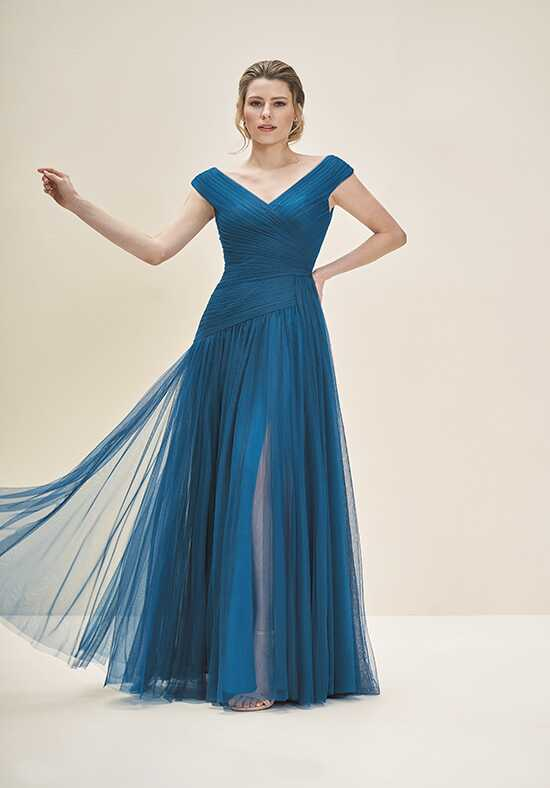Jade J195053 Blue Mother Of The Bride Dress