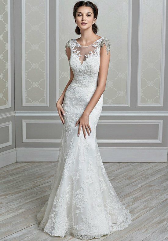 Kenneth Winston 1589 Mermaid Wedding Dress