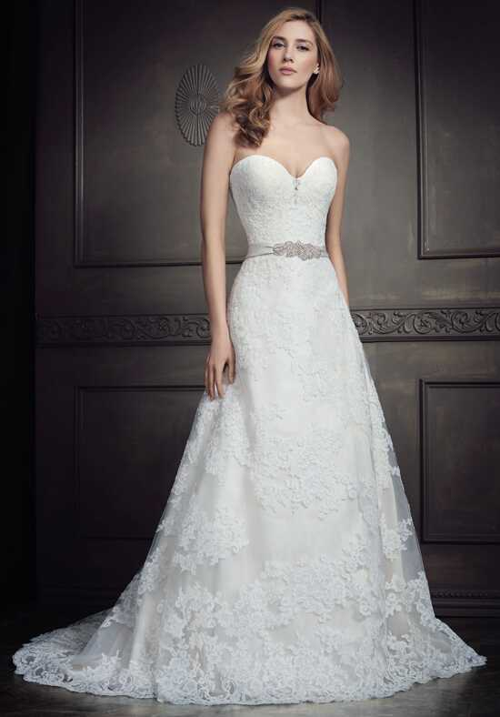 Kenneth Winston: Ella Rosa Collection BE350 A-Line Wedding Dress