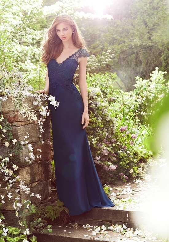 Hayley Paige Occasions 5650 V-Neck Bridesmaid Dress
