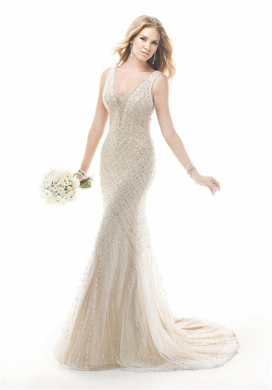 Maggie sottero spencer wedding dress the knot for Wedding dresses the knot
