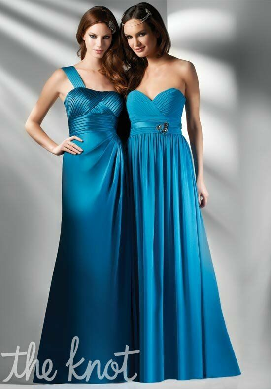 Bari Jay Bridesmaids 404/412 One-Shoulder, Sweetheart Bridesmaid Dress