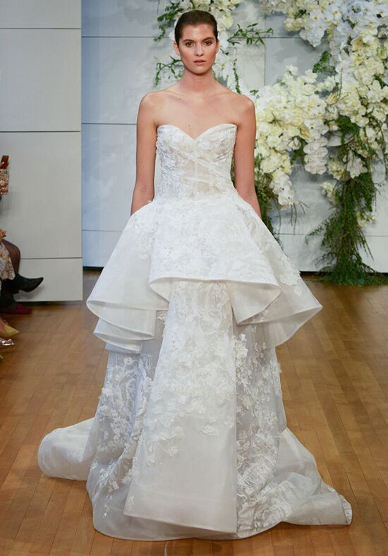 Monique Lhuillier Gardenia Ball Gown Wedding Dress