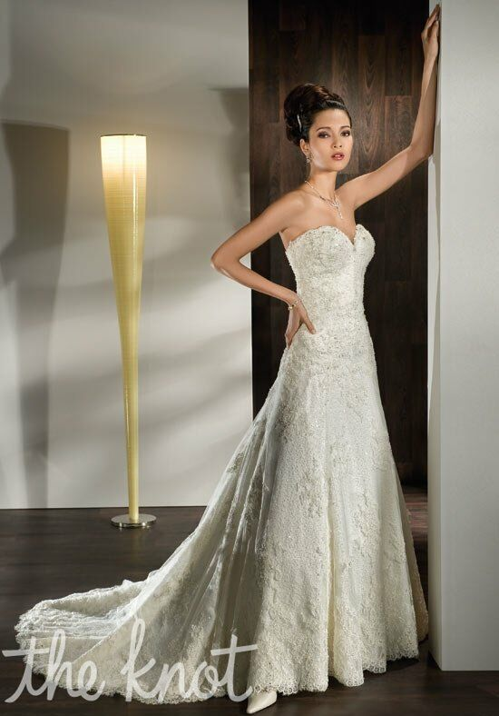 Demetrios 1429 A-Line Wedding Dress