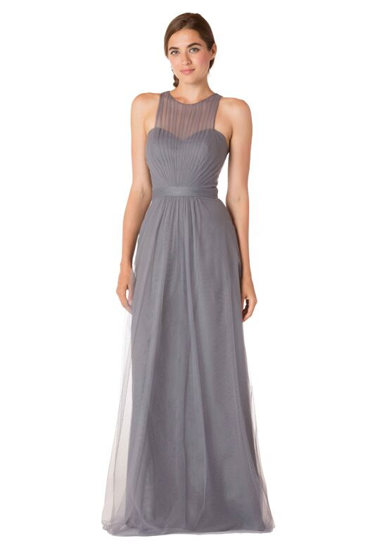Bari Jay Bridesmaids EN-1711 Illusion Bridesmaid Dress