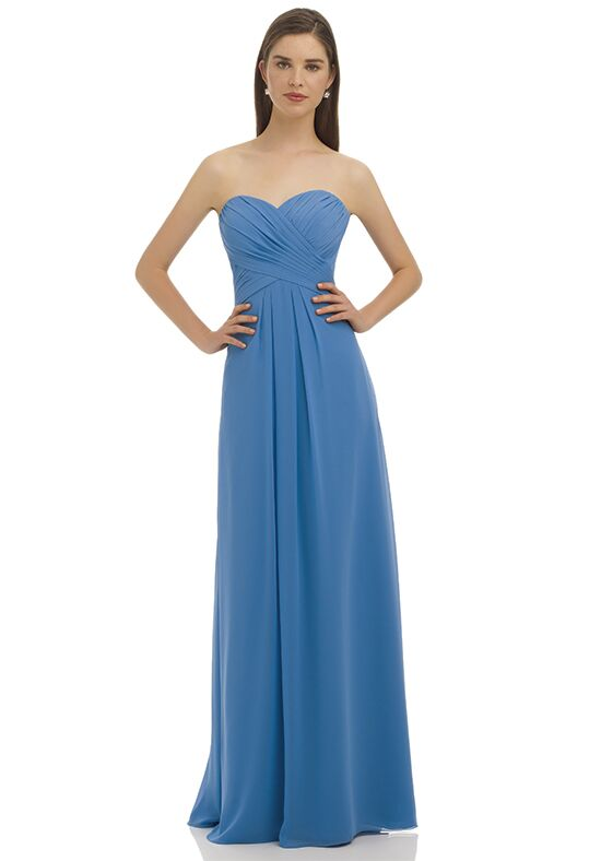 Bill Levkoff 329 Strapless Bridesmaid Dress